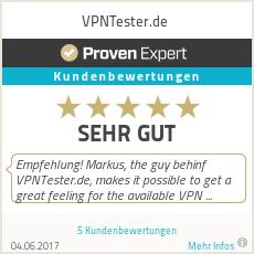 Erfahrungen & Bewertungen zu VPNTester.de