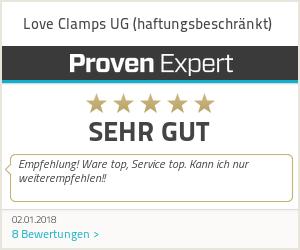 Erfahrungen & Bewertungen zu Love Clamps UG (haftungsbeschränkt)