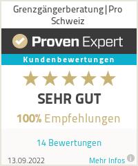 Erfahrungen & Bewertungen zu Grenzgängerberatung|Pro Schweiz