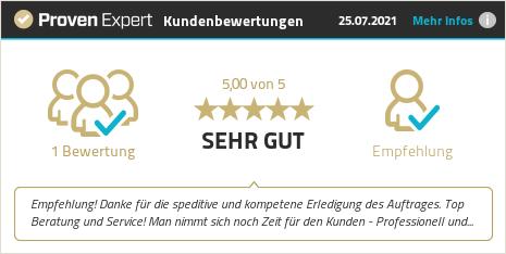 Kundenbewertungen & Erfahrungen zu Regional Umzüge GmbH. Mehr Infos anzeigen.