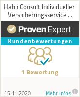 Erfahrungen & Bewertungen zu Hahn Consult Individueller Versicherungsservice GmbH