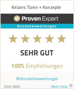 Erfahrungen & Bewertungen zu Keizers Türen + Konzepte