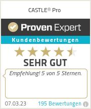 Erfahrungen & Bewertungen zu CASTLE® Pro
