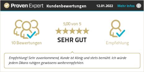 Kundenbewertungen & Erfahrungen zu Dikara - Der Dichtungskönig. Mehr Infos anzeigen.