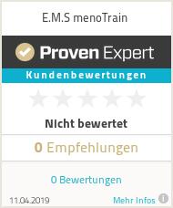 Erfahrungen & Bewertungen zu E.M.S menoTrain