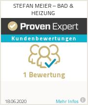 Erfahrungen & Bewertungen zu Stefan Meier Sanitär- und Heizungstechnik