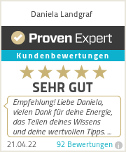Erfahrungen & Bewertungen zu Daniela Landgraf