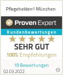 Erfahrungen & Bewertungen zu Pflegehelden® München