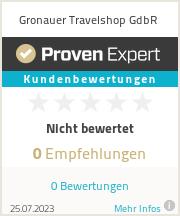 Erfahrungen & Bewertungen zu Gronauer Travelshop GdbR