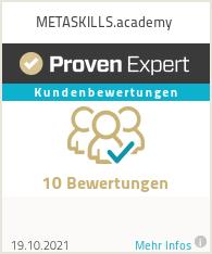 Erfahrungen & Bewertungen zu METASKILLS.academy