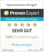 Erfahrungen & Bewertungen zu Hypnosepraxis Wengert