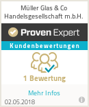 Erfahrungen & Bewertungen zu Müller Glas & Co Handelsgesellschaft m.b.H.