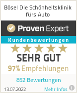 Erfahrungen & Bewertungen zu Bösel Die Schönheitsklinik fürs Auto