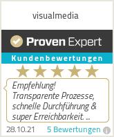 Erfahrungen & Bewertungen zu visualmedia