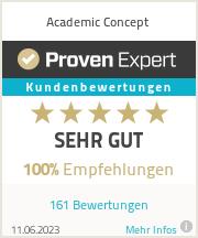 Erfahrungen & Bewertungen zu Academic Concept
