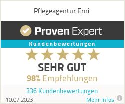 Erfahrungen & Bewertungen zu Pflegeagentur Erni
