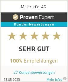Erfahrungen & Bewertungen zu Meier + Co. AG