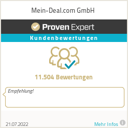 Erfahrungen & Bewertungen zu Mein-Deal.com GmbH