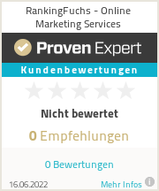 Erfahrungen & Bewertungen zu RankingFuchs - Online Marketing Services