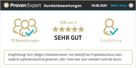 Kundenbewertungen & Erfahrungen zu VE Virtual Entity GmbH. Mehr Infos anzeigen.
