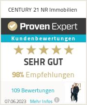 Erfahrungen & Bewertungen zu CENTURY 21 NR Immobilien