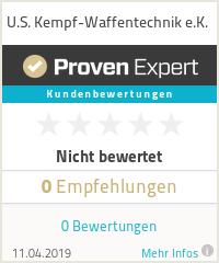 Erfahrungen & Bewertungen zu U.S. Kempf-Waffentechnik e.K.