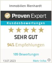 Erfahrungen & Bewertungen zu Immobilien Rienhardt