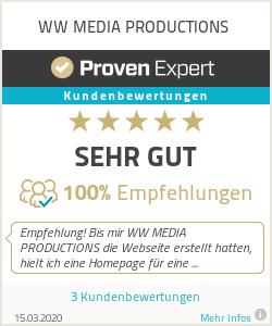 Erfahrungen & Bewertungen zu WW MEDIA PRODUCTIONS