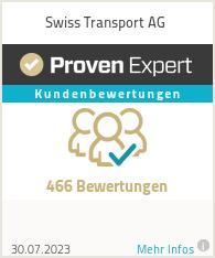 Erfahrungen & Bewertungen zu Swisstransport