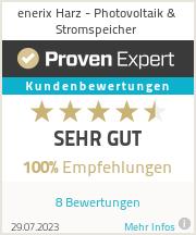 Erfahrungen & Bewertungen zu enerix Harz - Photovoltaik & Stromspeicher