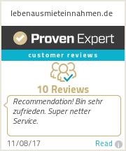 Erfahrungen & Bewertungen zu lebenausmieteinnahmen.de