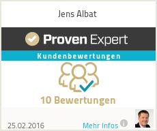 Erfahrungen & Bewertungen zu Jens Albat