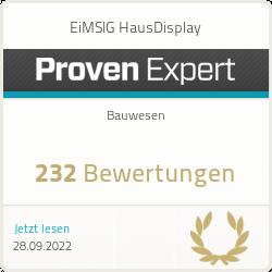 ProvenExpert-Profil von EiMSIG HausDisplay anzeigen eimsig photo