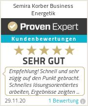 Erfahrungen & Bewertungen zu Semira Korber Business Energetik