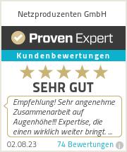 Erfahrungen & Bewertungen zu Netzproduzenten.de