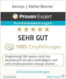 Erfahrungen & Bewertungen zu bensys | Stefan Benner