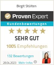 Erfahrungen & Bewertungen zu Birgit Stülten