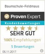 Erfahrungen & Bewertungen zu Baumschule-Feldmaus