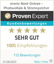 Erfahrungen & Bewertungen zu enerix Flensburg - Photovoltaik & Stromspeicher