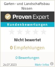 Erfahrungen & Bewertungen zu Garten- und Landschaftsbau Nissen