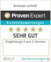 Erfahrungen & Bewertungen zu Andreas Lechelt