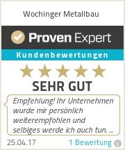 Erfahrungen & Bewertungen zu Wochinger Metallbau