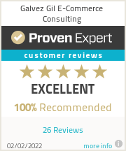Ratings & reviews for Galvez Gil E-Commerce Consulting