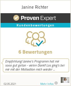 Erfahrungen & Bewertungen zu Janine Richter