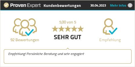 Kundenbewertungen & Erfahrungen zu primego GmbH & Co. KG. Mehr Infos anzeigen.