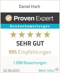 Erfahrungen & Bewertungen zu Daniel Hoch