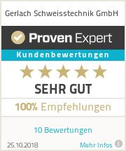 Erfahrungen & Bewertungen zu Gerlach Schweisstechnik GmbH
