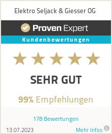 Erfahrungen & Bewertungen zu Elektro Seljack & Giesser OG