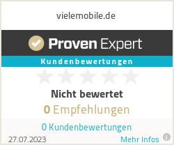Erfahrungen & Bewertungen zu vielemobile.de