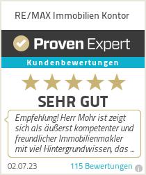 Erfahrungen & Bewertungen zu RE/MAX Immobilien Kontor